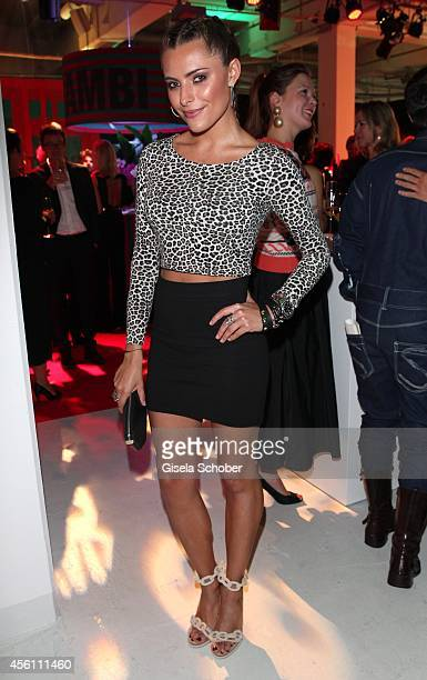 Sophia Thomalla arrives at Tribute To Bambi 2014 at Station on September 25 2014 in Berlin Germany
