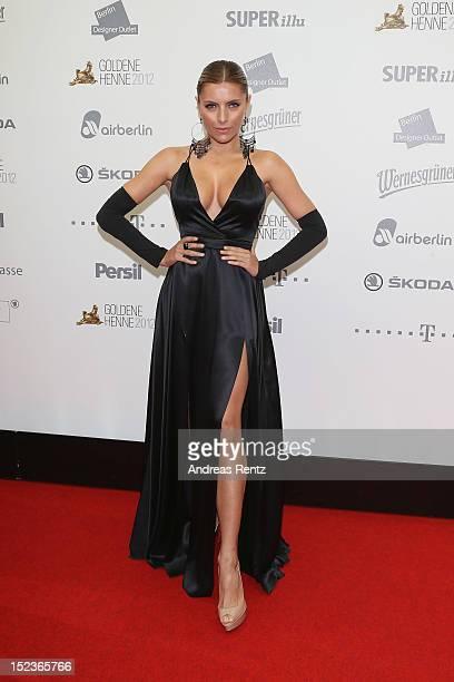 Sophia Thomalla attends for the 'Goldene Henne' 2012 award on September 19 2012 in Berlin Germany
