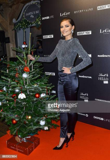 Sophia Thomalla attends her Christmas Dinner Party at the Bar Hygge on November 30 2017 in Hamburg Germany