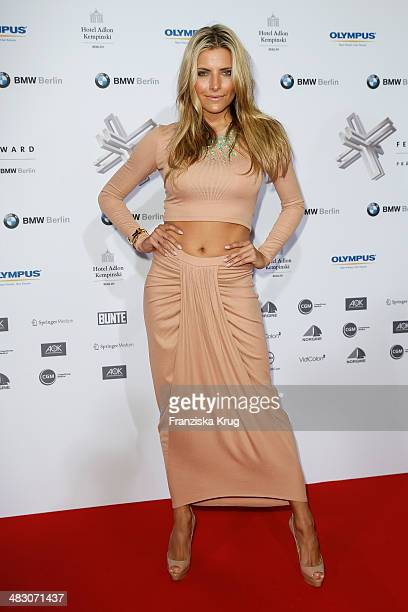 Sophia Thomalla attends the Felix Burda Award 2014 at Hotel Adlon on April 06 2014 in Berlin Germany