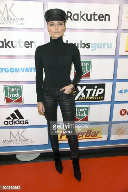 Sophia Thomalla attends the Schauinsland Reisen Cup 2018 at Schwalbe Arena on January 7 2018 in Gummersbach Germany