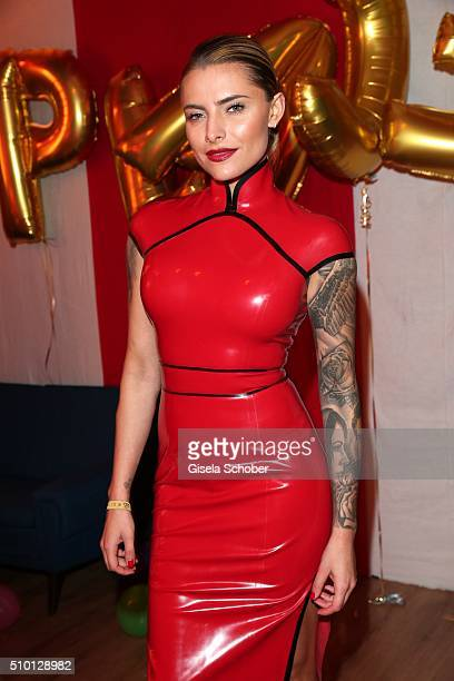 Sophia Thomalla during the Bild 'Place to B' Party at Borchardt during the 66th Berlinale International Film Festival Berlin on February 13 2016 in...