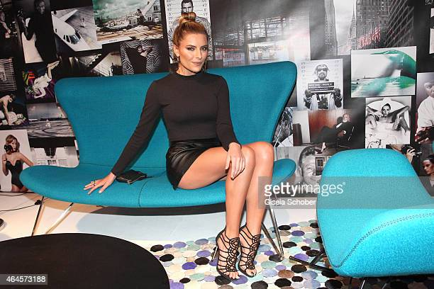 Sophia Thomalla during the Pre Opening Event Exhibition Insights by Mayk Azzato presented by KARE Kraftwerk on February 26 2015 in Munich Germany