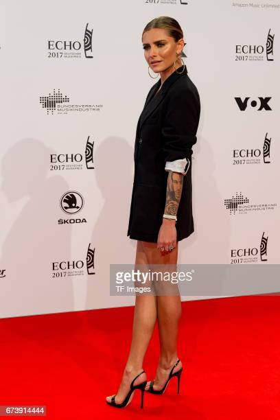 Sophia Thomalla on the red carpet during the ECHO German Music Award in Berlin, Germany on April 06, 2017.