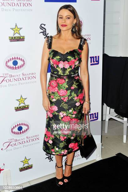 Sophia Vergara attends The Brent Shapiro Foundation Summer Spectacular on September 7 2018 in Beverly Hills California