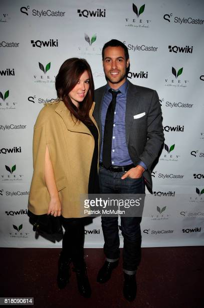 Sophia Walker and Ari Goldberg attend Stylecaster Media Group hosts official New York Launch of QWIKIcom at Backstage Tammany Hall NYC on November 19...