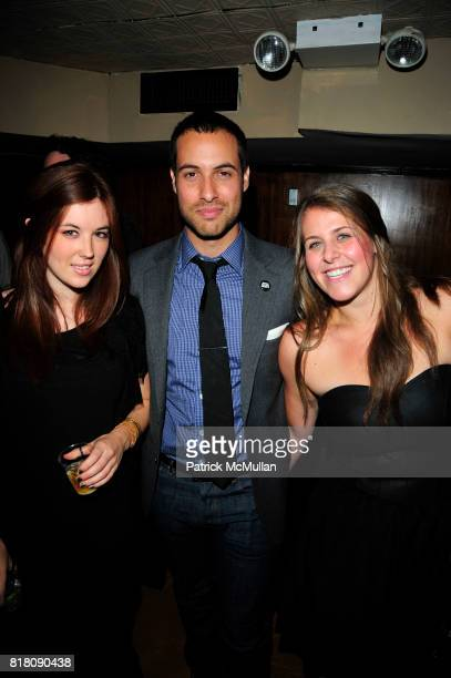 Sophia Walker Ari Goldberg and Rachel Siegel attend Stylecaster Media Group hosts official New York Launch of QWIKIcom at Backstage Tammany Hall NYC...