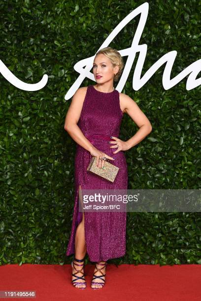 Sophia Webster arrives at The Fashion Awards 2019 held at Royal Albert Hall on December 02 2019 in London England