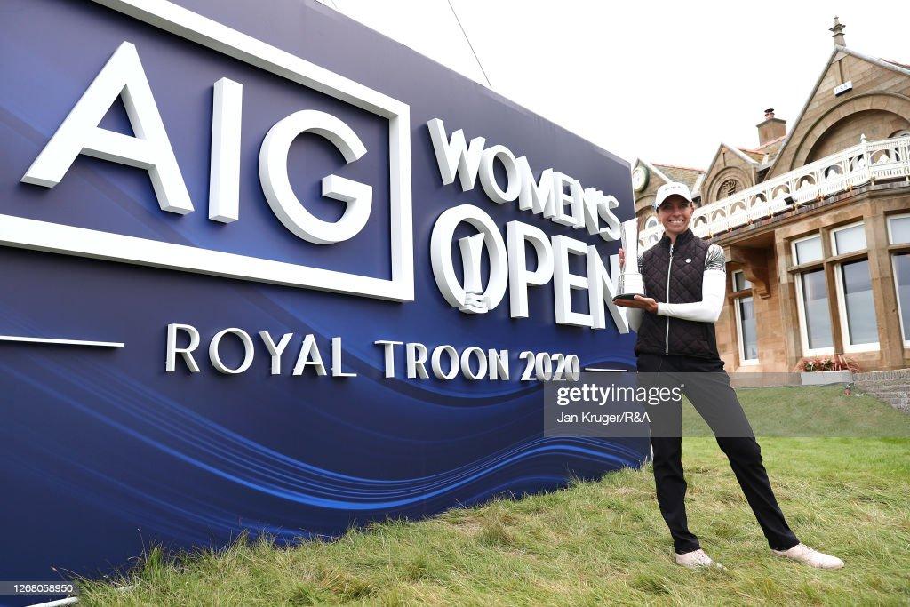 AIG Women's Open 2020 - Day Four : News Photo