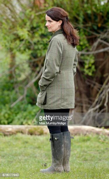 Sophie Agnew accompanies The Duchess as she visits Farms for City Children on May 3 2017 in Arlingham England Farms for City Children is a charity...