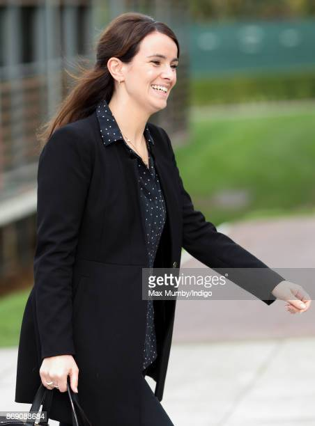 Sophie Agnew seen during a visit by The Duchess of Cambridge to the Lawn Tennis Association at the National Tennis Centre on October 31 2017 in...