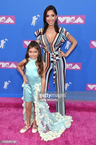 Sophie and Farrah Abraham attend the 2018 MTV Video Music Awards at Radio City Music Hall on August 20 2018 in New York City