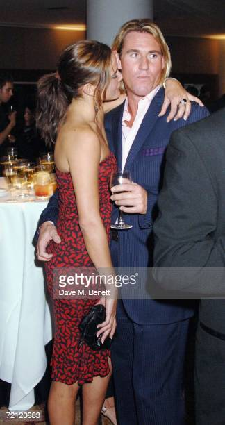 Sophie Anderson and Simon Jordan attend the '24 Hour Plays' gala party at the Riverbank Plaza Hotel after the performance at the Old Vic Theatre on...