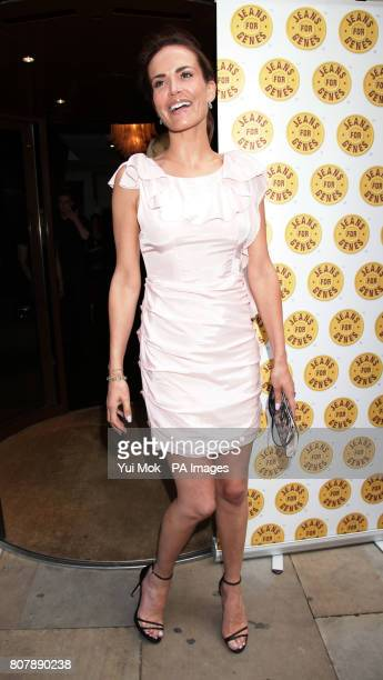 Sophie Anderton arriving for the Jeans For Genes CelebriTee Party at the Sanctum Soho Hotel in central London