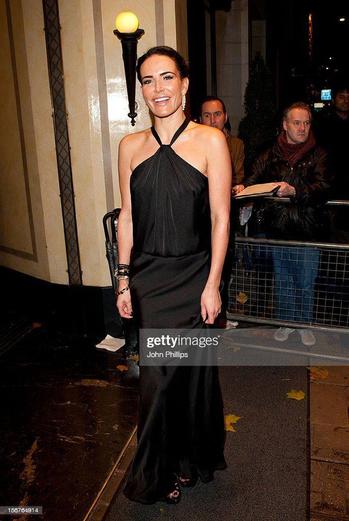 Sophie Anderton attends The Amy Winehouse Foundation Ball>> on November 20, 2012 in London, England.