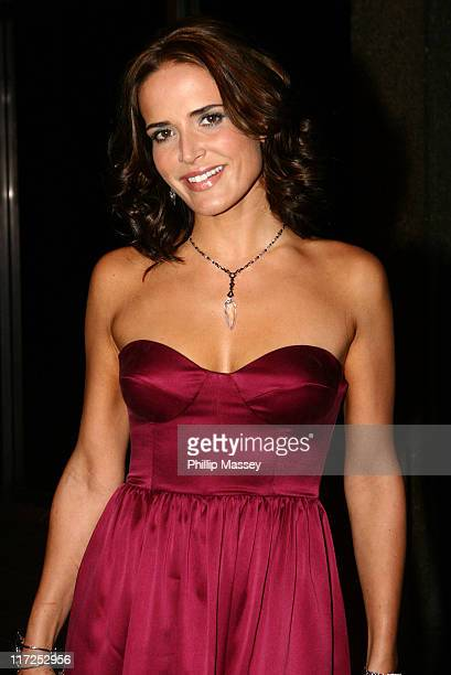 Sophie Anderton during Celebrity Sightings at Tubridy Tonight - September 23, 2006 at RTE Studios in Dublin, Ireland.