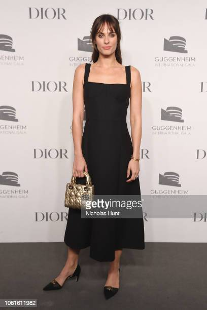 Sophie Auster attends the 2018 Guggenheim International Gala PreParty made possible by Dior at Solomon R Guggenheim Museum on November 14 2018 in New...