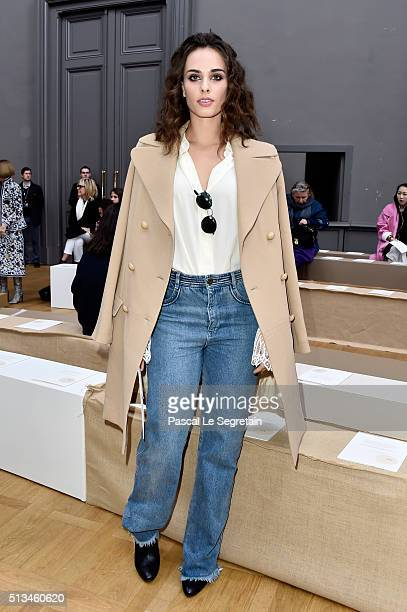 Sophie Auster attends the Chloe show as part of the Paris Fashion Week Womenswear Fall/Winter 2016/2017 on March 3 2016 in Paris France