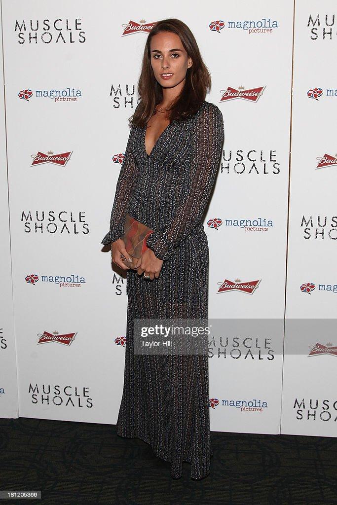 Sophie Auster attends the 'Muscle Shoals' New York screening at Landmark Sunshine Cinemas on September 19, 2013 in New York City.