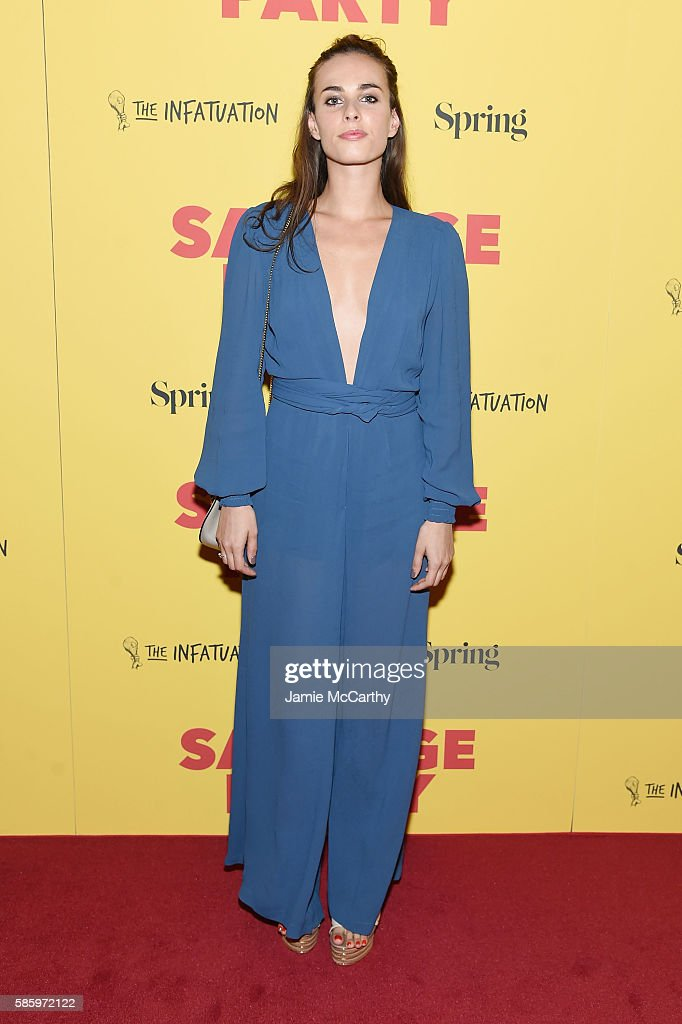 Sophie Auster attends the premiere of 'Sausage Party' at Sunshine Landmark on August 4, 2016 in New York City.