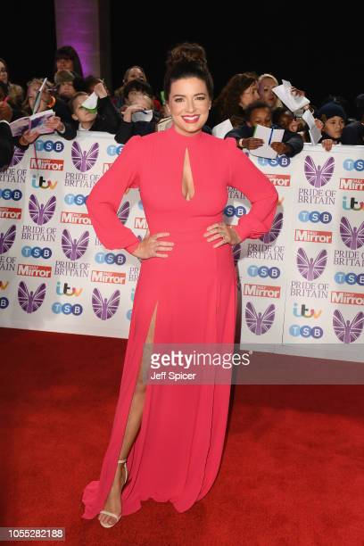 Sophie Austin attends the Pride of Britain Awards 2018 at The Grosvenor House Hotel on October 29 2018 in London England