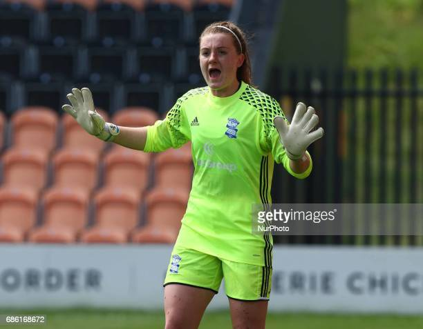 Sophie Baggaley of Birmingham City LFC during Women's Super League 1 Spring Series match between Arsenal Ladies against Birmingham City Ladies at The...