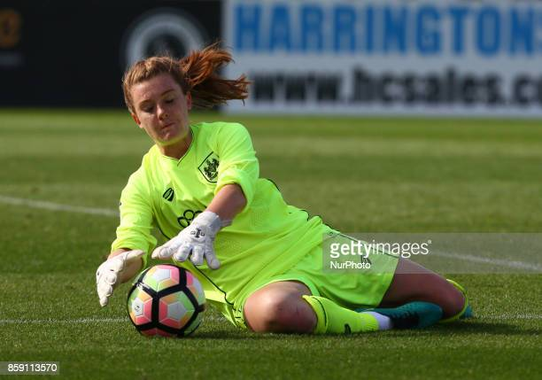 Sophie Baggaley of Bristol City Women during Women's Super League 1match between Arsenal against Bristol City Women at Meadow Park Borehamwood FC on...