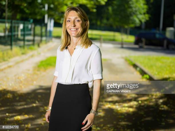 Sophie BeaudouinHubiere 44 years the new member of the French Parliament from the Presidential party on june 17 2017 in Limoges France Sophie...
