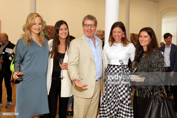 Sophie Beeftink guest President and CEO of Pace Marc Glimcher Alexandra Leive and guest attend Pace Gallery Celebrates Julian Schnabel at 6...