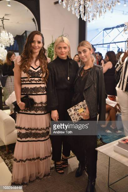 Sophie Bickley Kate Young and Charlotte Bickley attend the celebration of the BCBGMAXAZRIA SoHo store opening with Kate Young Bernd Kroeber and...