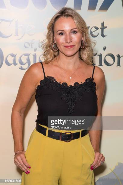 Sophie Blake attends Asterix the Secret of the Magic Potion screening at VUE Leicester Square