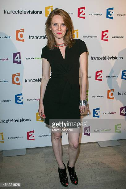 Sophie Brafman attends the 'Rentree de France Televisions' at Palais De Tokyo on August 26 2014 in Paris France