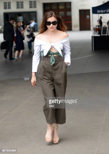 Sophie Cookson sighting at The BBC on July 4 2017 in London England
