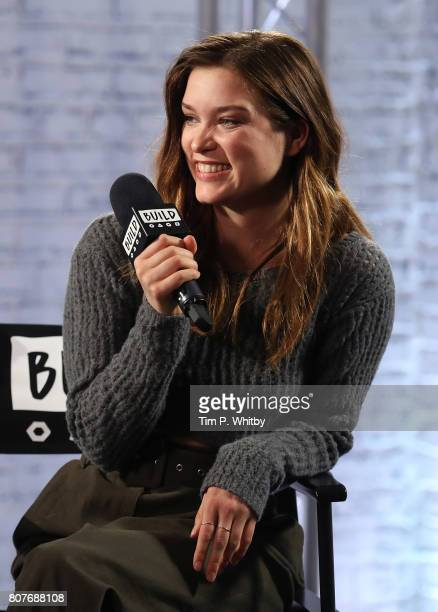Sophie Cookson speaks about the new Netflix show 'Gypsy' at BUILD LDN at AOL London on July 4 2017 in London England