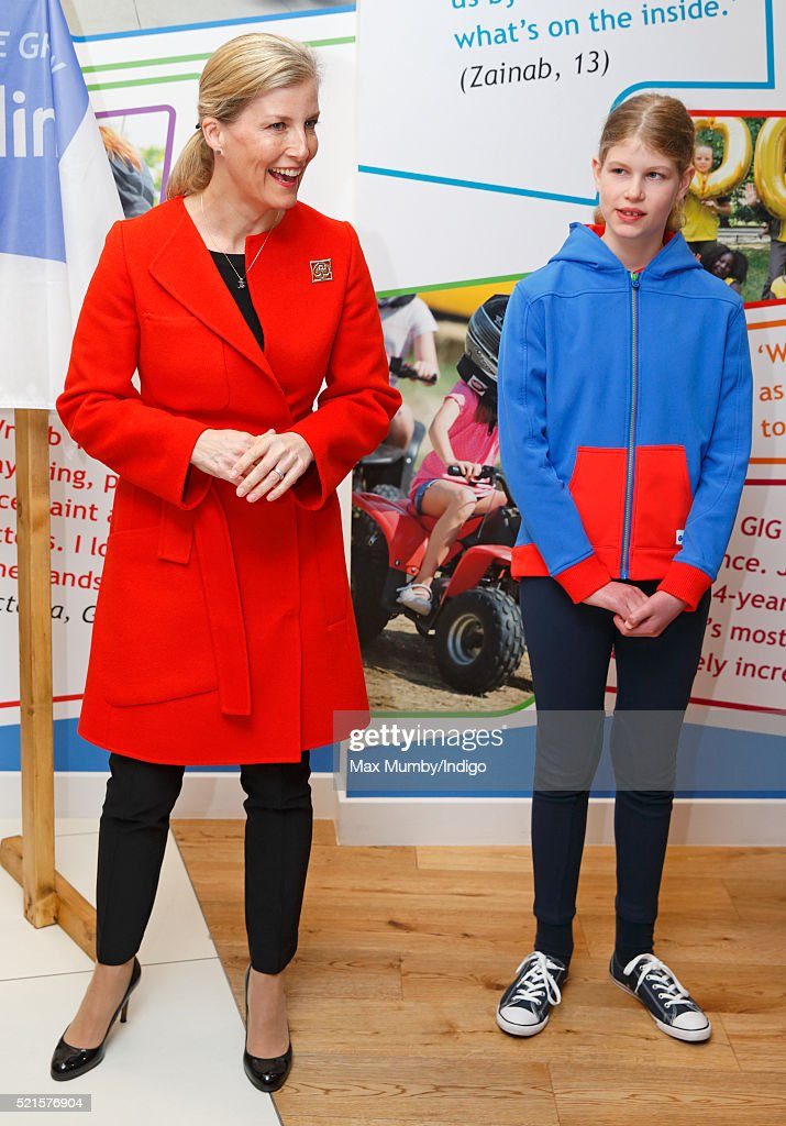 The Countess of Wessex Opens The Girlguiding Head Office : News Photo