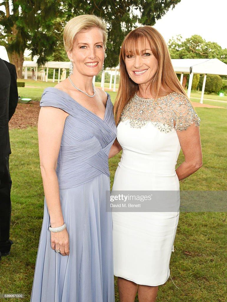 Duke of Edinburgh Award 60th Anniversary Diamonds Are Forever Gala : News Photo
