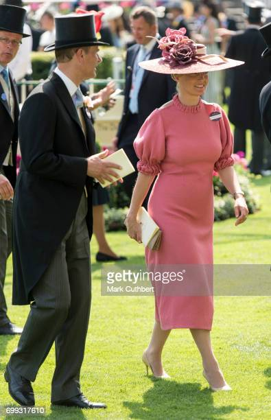 Sophie Countess of Wessex and Prince Edward Earl of Wessex attend Royal Ascot 2017 at Ascot Racecourse on June 21 2017 in Ascot England
