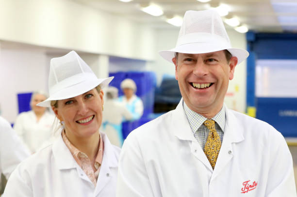 GBR: The Earl And Countess Of Wessex Visit Essex