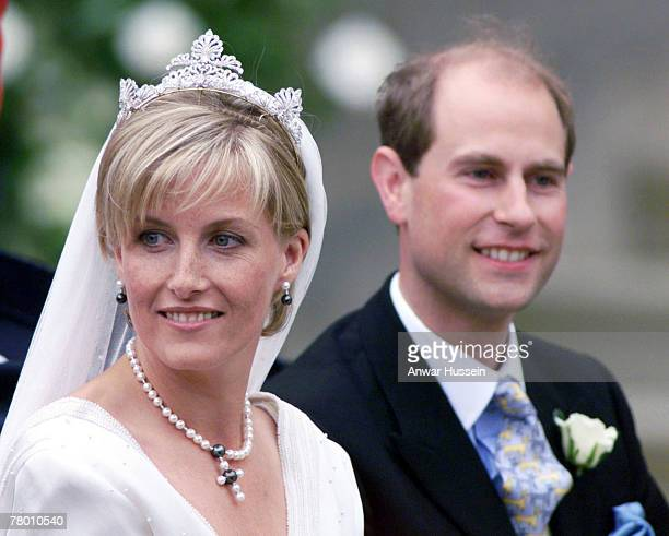 Sophie Countess of Wessex and Prince Edward Earl of Wessex