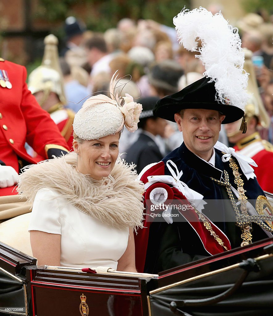 The Order Of The Garter Service : News Photo
