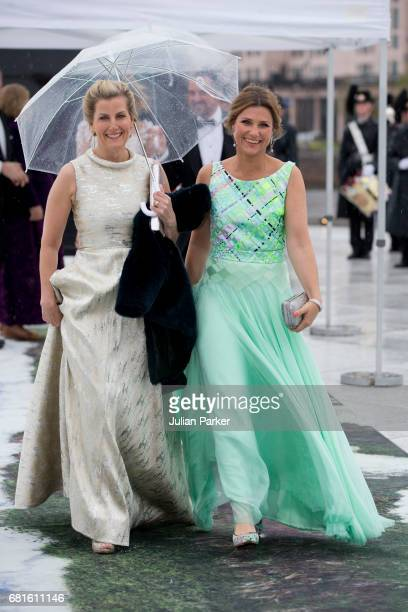 Sophie Countess of Wessex and Princess Martha Louise of Norway attend a Gala Banquet hosted by The Government at The Opera House as part of the...