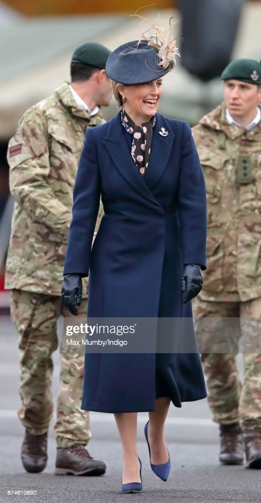 The Countess Of Wessex Attends 5th Battalion The Rifles Homecoming Parade