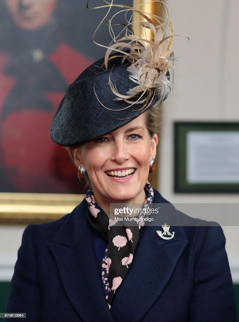 The Countess Of Wessex Attends 5th Battalion The Rifles Homecoming Parade : News Photo