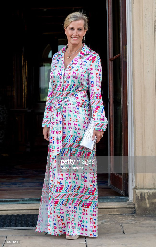 The Countess Of Wessex Visits Leeds : News Photo