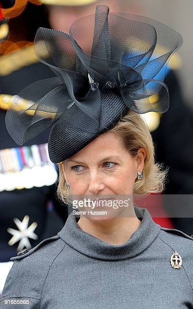 Sophie Countess of Wessex attends a Service of Commemoration to mark the end of combat operations in Iraq at St Paul's Cathedral on October 9 2009 in...
