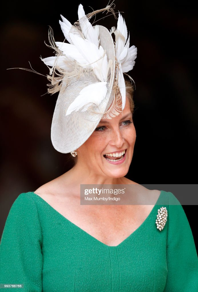 Sophie, Countess of Wessex attends a service to celebrate the 70th Anniversary of the NHS at Westminster Abbey on July 5, 2018 in London, England. The National Health Service was founded in July 1948 by Aneurin 'Nye' Bevan to provide free at the point of delivery healthcare for residents of the United Kingdom.