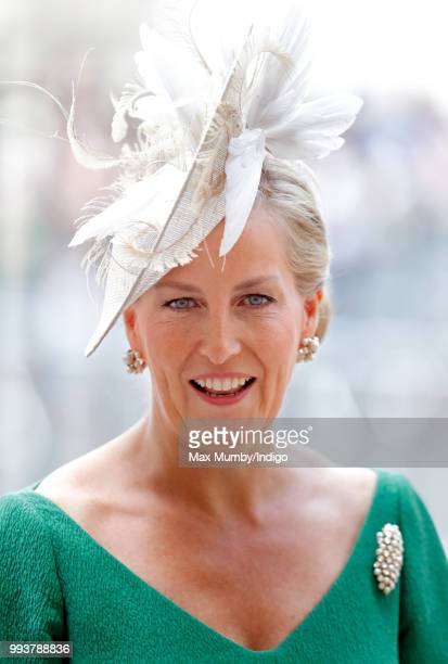 Sophie, Countess of Wessex attends a service to celebrate the 70th Anniversary of the NHS at Westminster Abbey on July 5, 2018 in London, England....