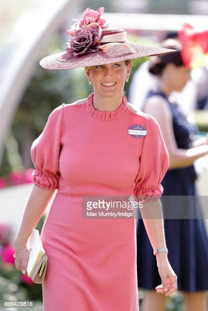 Sophie Countess of Wessex attends day 2 of Royal Ascot at Ascot Racecourse on June 21 2017 in Ascot England