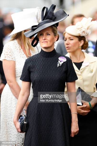 Sophie Countess of Wessex attends Day 3 Ladies Day of Royal Ascot at Ascot Racecourse on June 19 2014 in Ascot England
