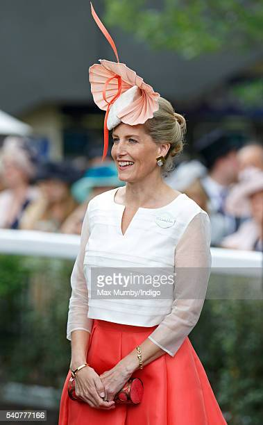 Sophie Countess of Wessex attends day 3 'Ladies Day' of Royal Ascot at Ascot Racecourse on June 16 2016 in Ascot England